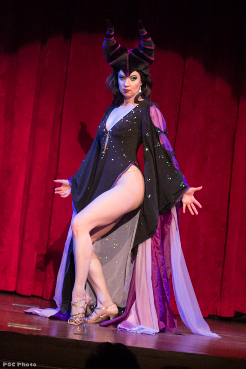 Bella Bijoux (Maleficent) in Disney After Dark.  ©POC Photo