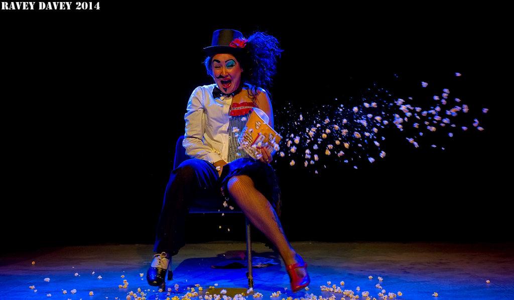 Eastend Cabaret at the Hebden Bridge Burlesque Festival 2014.  ©Ravey Davey