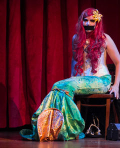 Lady Drew Blood (the Little Mermaid) in Disney After Dark. ©POC Photo