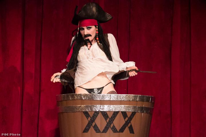Seraphina Fiero (Captain Jack Sparrow)  in Disney After Dark.  ©POC Photo