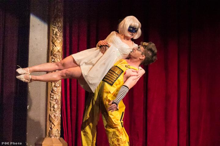 Stella D'Letto & Jesus La Pinga (Eve & Wall-E) in Disney After Dark.  ©POC Photo