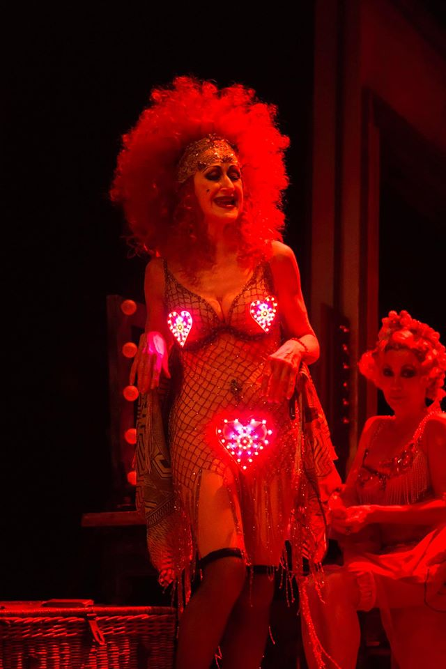 Julie Legrand as Electra in  Gypsy at the Savoy Theatre.  ©Johan Persson