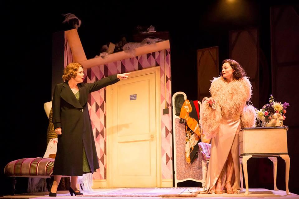 Imelda Staunton and Lara Pulver in Gypsy at the Savoy Theatre.  ©Johan Persson