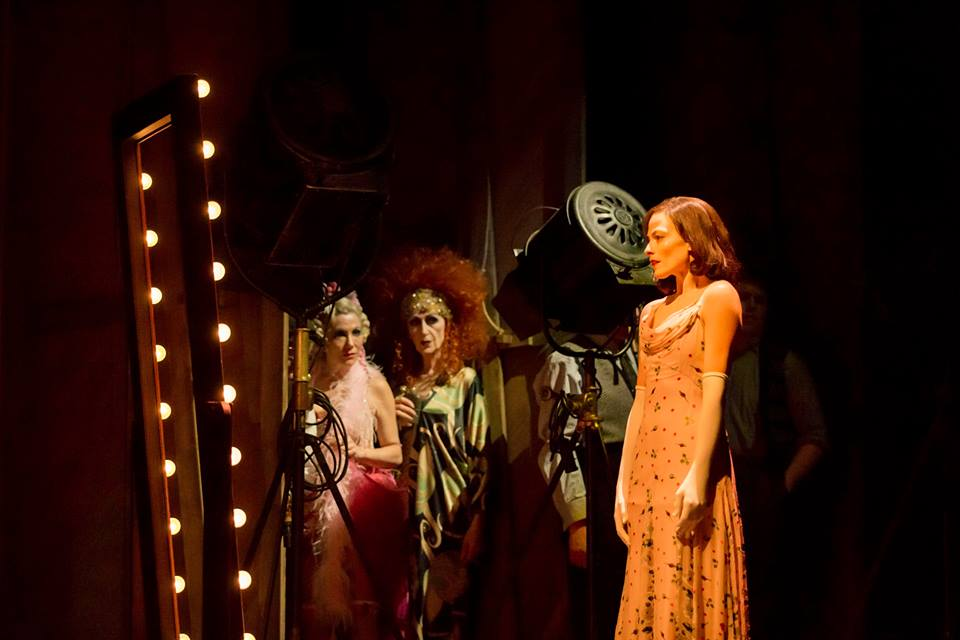 Lara Pulver as Louise/Gypsy Rose Lee in Gypsy at the Savoy Theatre.  ©Johan Persson