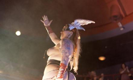 Burlesquers of the World: Bettie Blackheart (Helsinki, Finland)