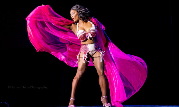 PHOTOS: Perle Noire Wins 1st Runner Up in Burlesque Hall of Fame Reigning Queen Contest