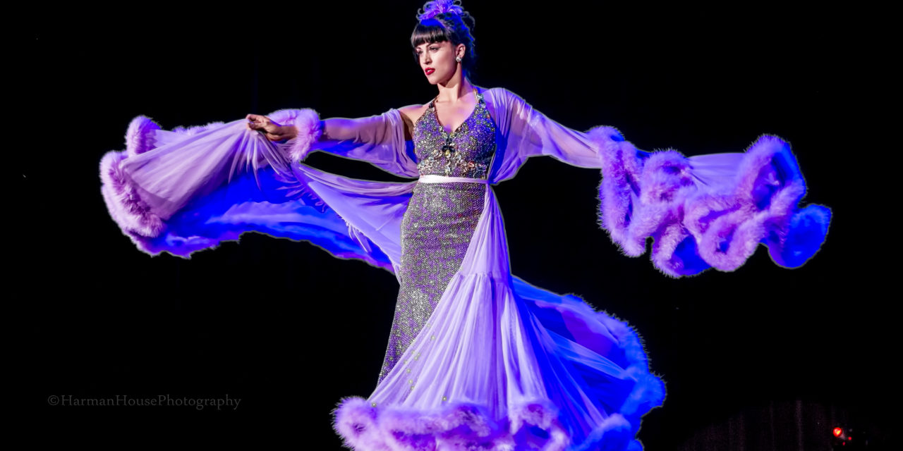 PHOTOS: Ginger Valentine Wins 2nd Runner Up in Burlesque Hall of Fame Miss Exotic World Contest