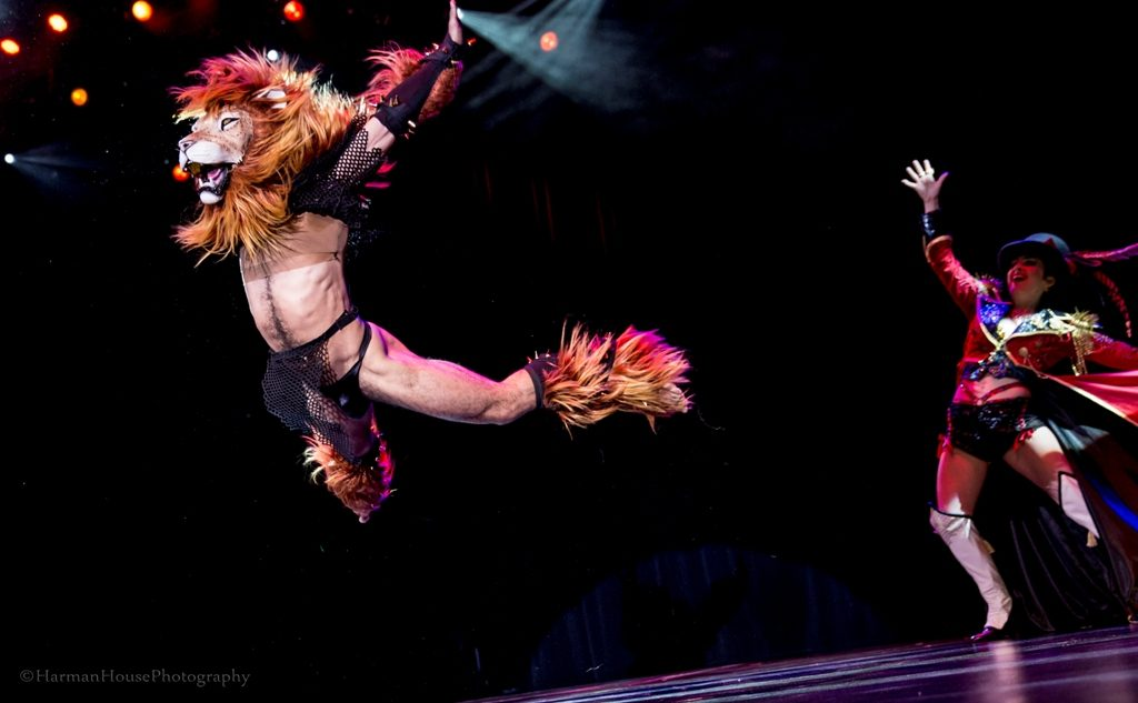 Tansy and Leon Lightfoot in the Movers, Shakers and Innovators Thursday Night Showcase at the Burlesque Hall of Fame Weekend 2015. ©Chris Harman/Harman House Photography for 21st Century Burlesque Magazine