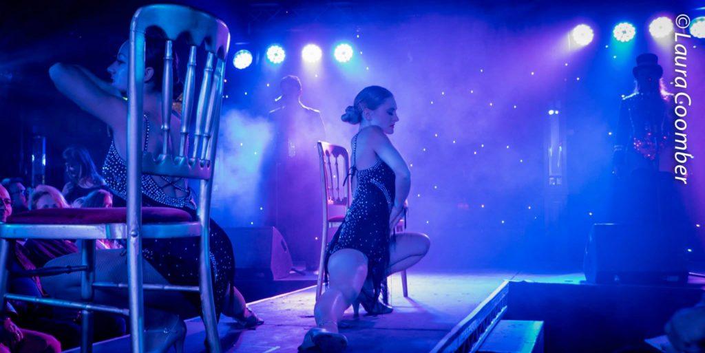 Cabaret Rouge in Cabaret Boheme, Brighton Fringe 2015.  ©Laura Coomber