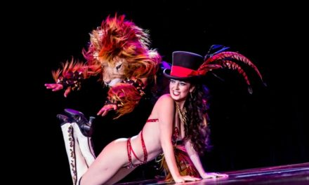VIDEO: Tansy Wows the Crowd at Burlesque Hall of Fame Weekend 2015
