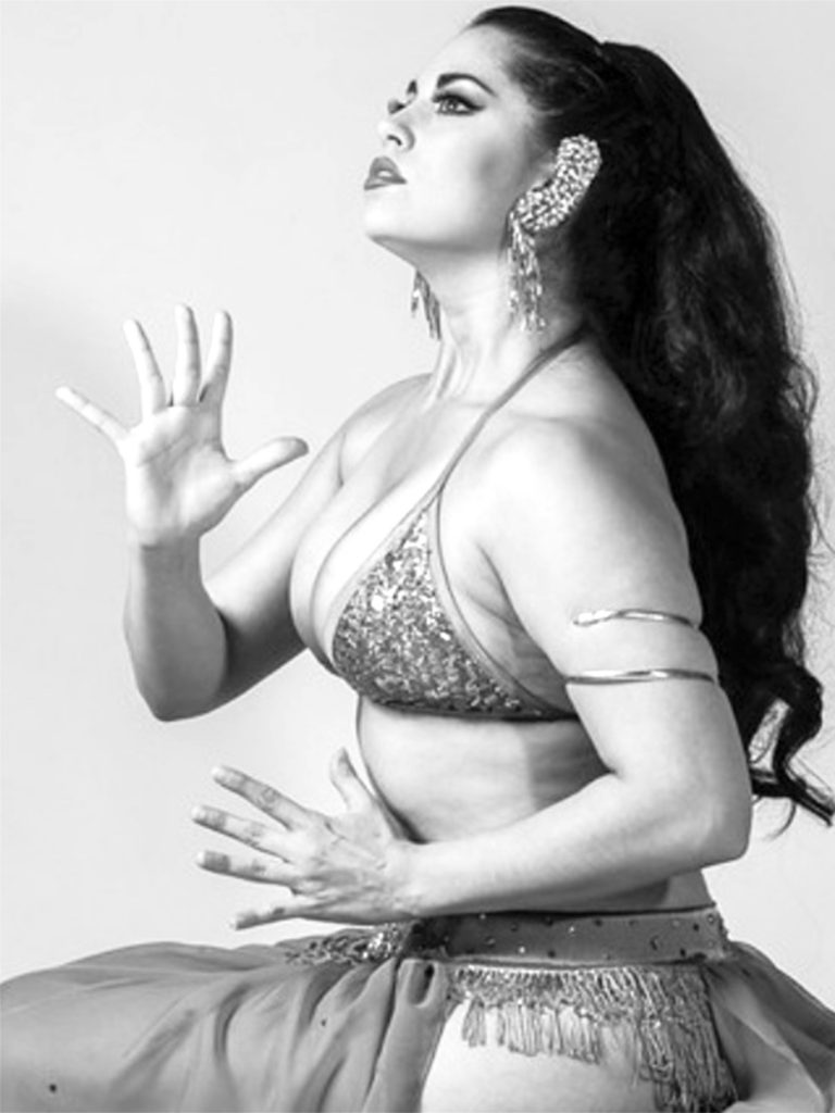 Coco Lectric in a tribute to burlesque legend Wild Cherry, by Steve DeMent..