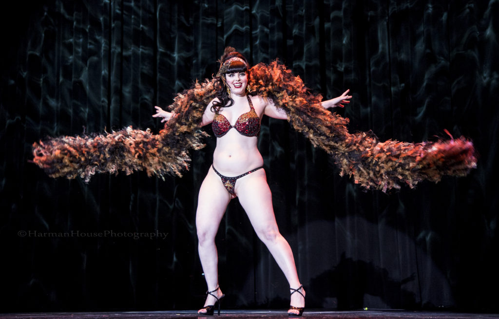 Bunny Buxom at the Burlesque Hall of Fame Weekend Tournament of Tease in The Orleans Showroom, Las Vegas. ©Chris Harman/Harman House Photography for 21st Century Burlesque Magazine. Not to be used without permission.-