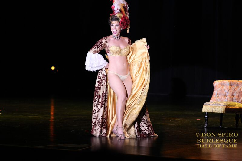 Renee Holiday at the Burlesque Hall of Fame Weekend Tournament of Tease in The Orleans Showroom, Las Vegas. ©Don Spiro