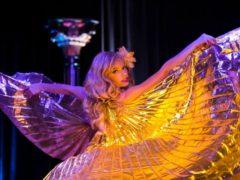 Goldie Candela, Austin. ©James Cano (A Teasetastic Tour of Texas Burlesque)