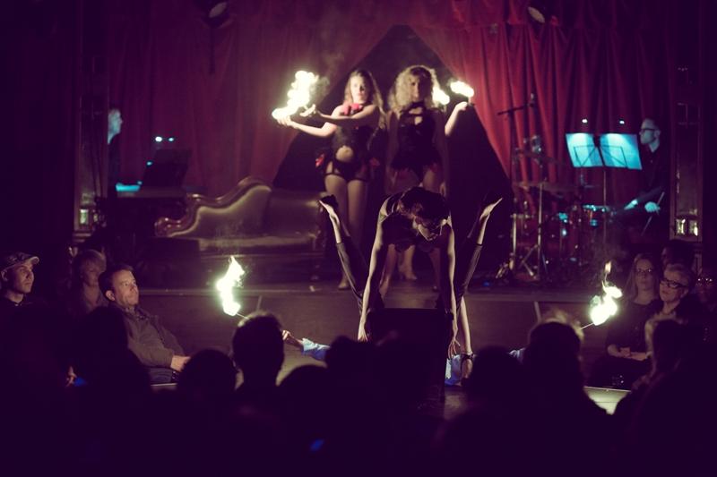 Black Cat Cabaret: Nocturne at London Wonderground 2015. ©Jason Moon  (Review: Black Cat Cabaret - Nocturne)
