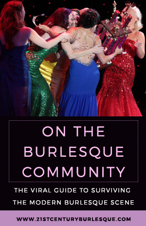 On the Burlesque Community - Holli-Mae Johnson