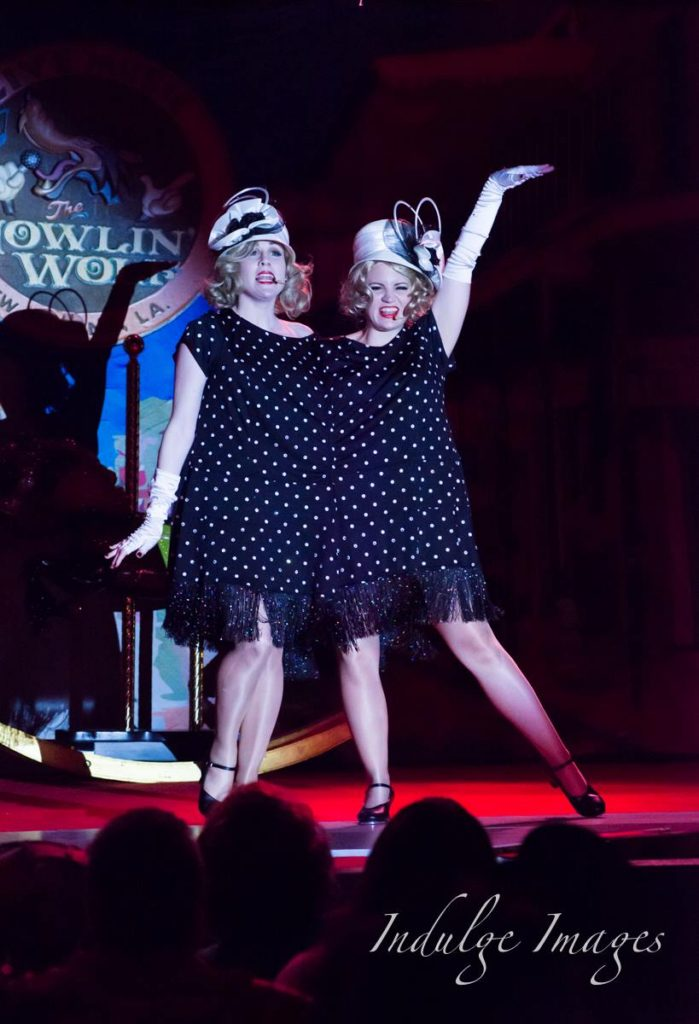 The Sisters Von Schtick, Kitschy De Coeur and Virgina Scare,   at the Snake Oil Festival 2015.  ©Indulge Images