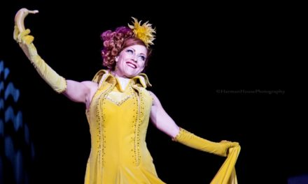 Queen Trixie Little: Top Banana  (Burlesque Costume)