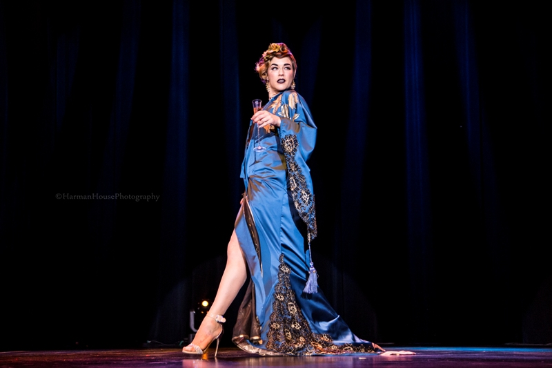 Lola Frost at the Burlesque Hall of Fame Weekend Tournament of Tease in The Orleans Showroom, Las Vegas. ©Chris Harman/Harman House Photography for 21st Century Burlesque Magazine. Not to be used without permission.