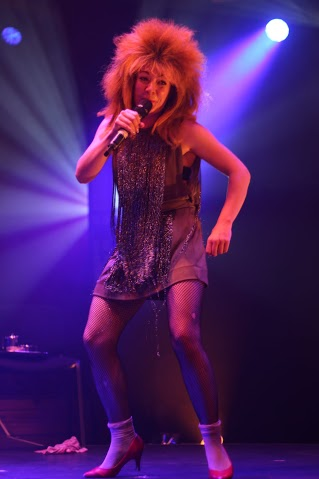 Tina Turner Tea  Lady in Another Fucking Variety Show at London Wonderground 2015.  ©Clive Holland