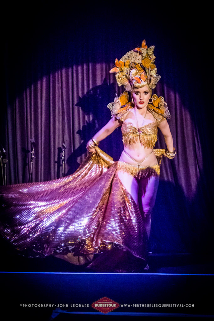 Medianoche at the Perth International Burlesque Festival. ©John Leonard