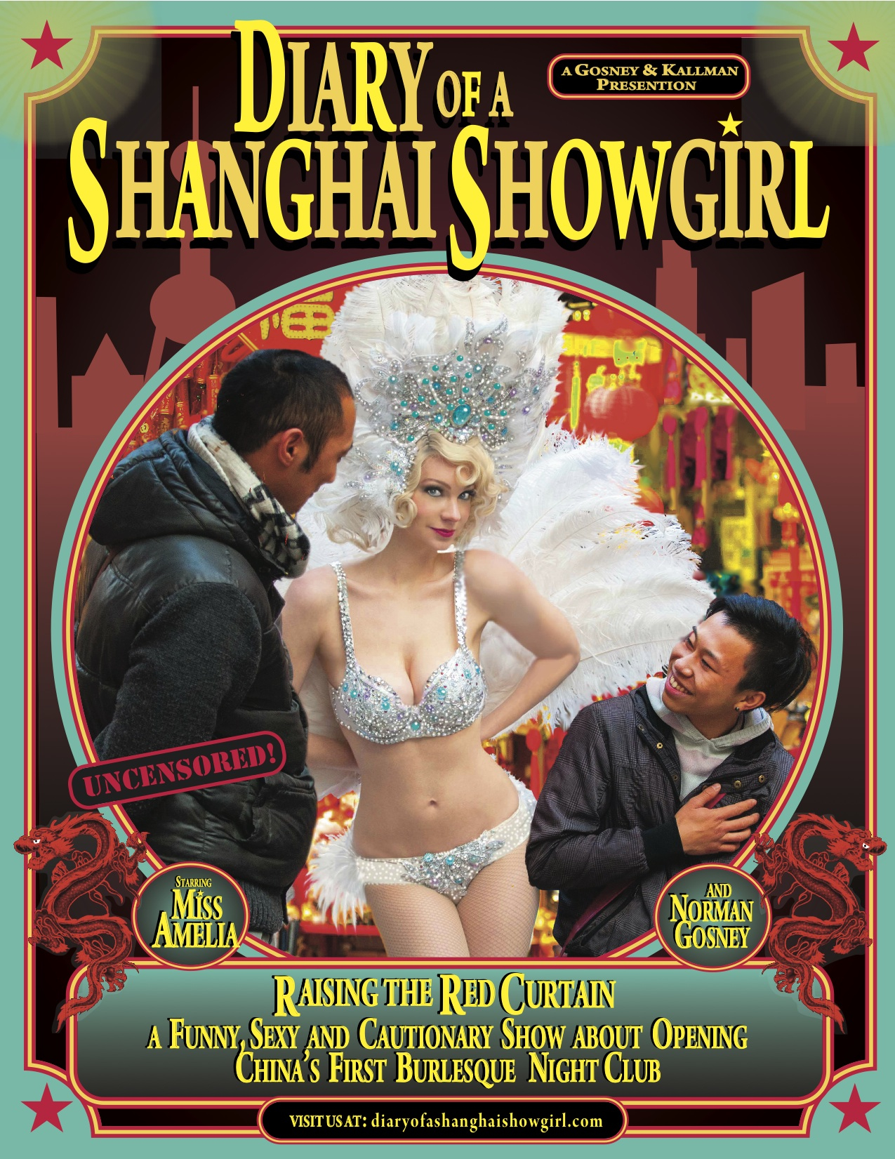 Diary of a Shanghai Showgirl. ©Robert Sedo Photography