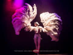 Vicky Butterfly at the Perth International Burlesque Festival. ©John Leonard
