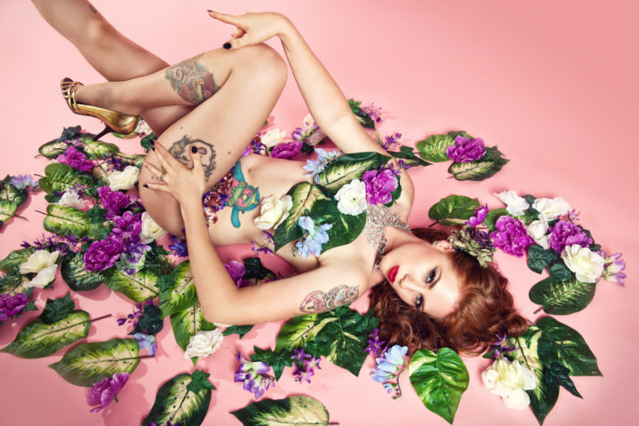 Eva Mae Garnet by Vixen Photography