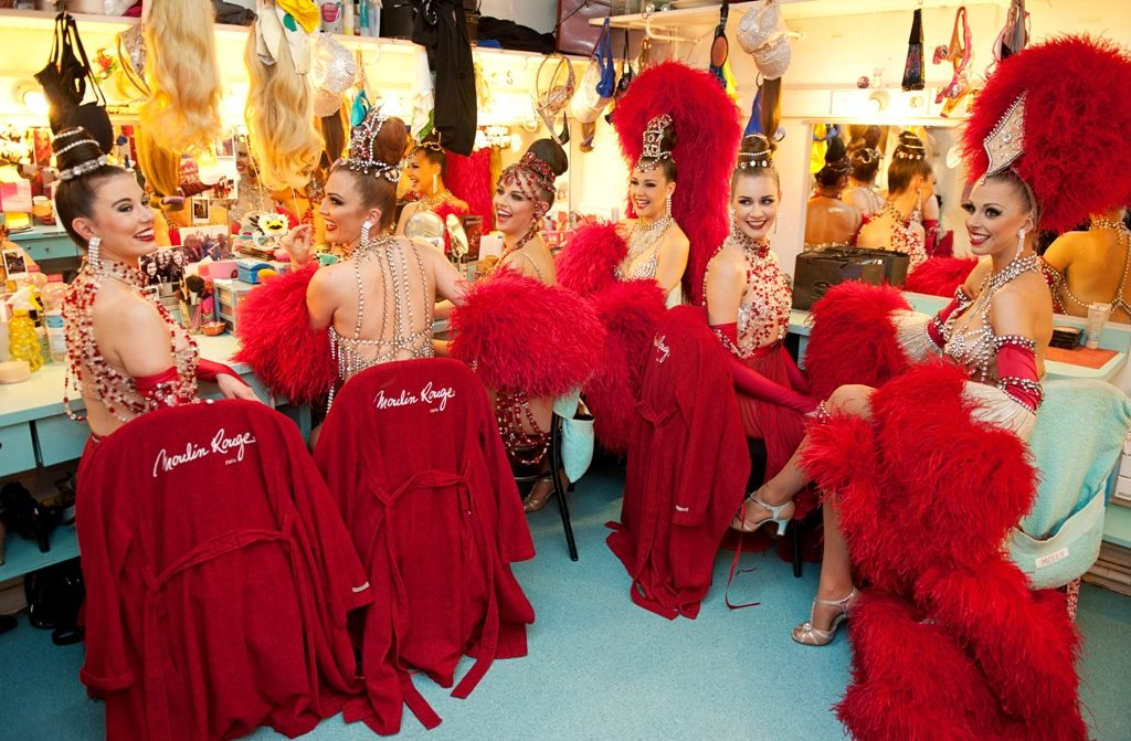 Moulin Rouge Dressing Room