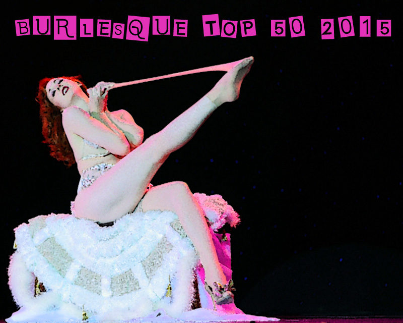 Burlesque TOP 50 2015: Australia Top 10