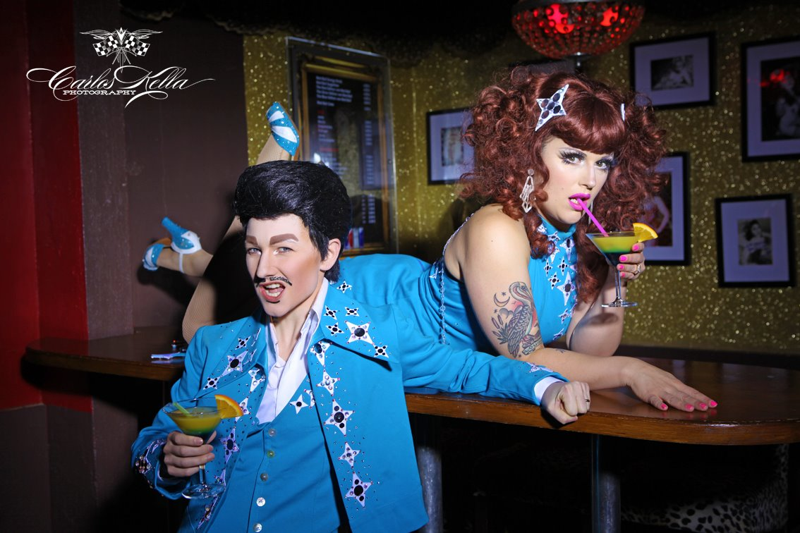 Kitten LaRue and Lou Henry Hoover, by Carlos Kella Photography