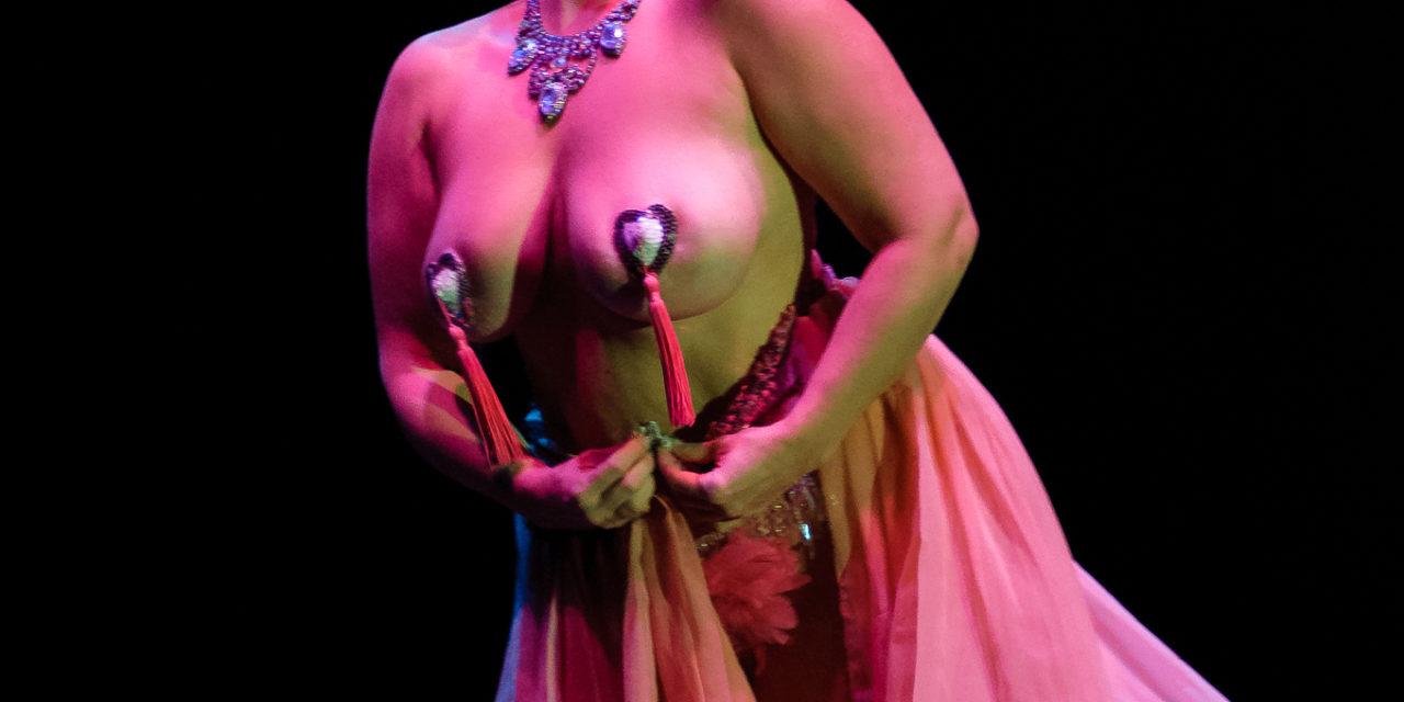Shoshana Portnoy:  Burlesque TOP 50 Rewards Balls, Connection and Relevancy