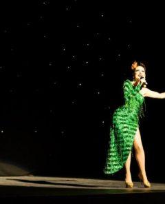Lili La Scala at the Hebden Bridge Burlesque Festival 2015, by Nick Singleton Photography
