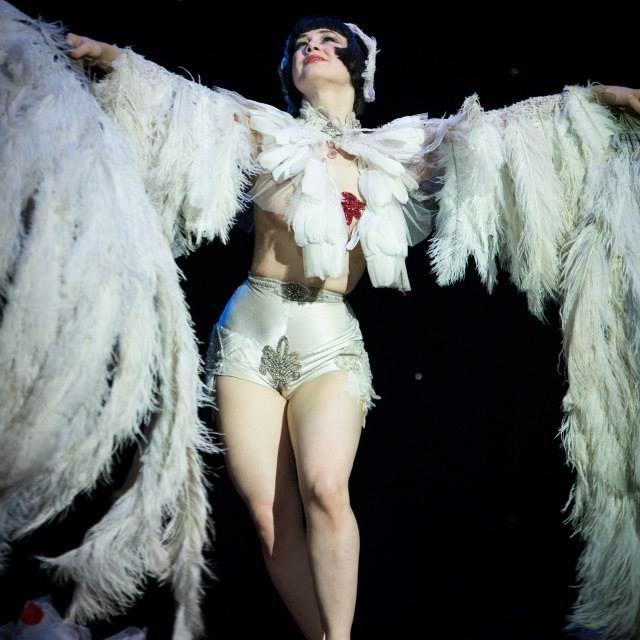 PHOTOS: Vicky Butterfly Captivates at Hebden Bridge Burlesque Festival 2015