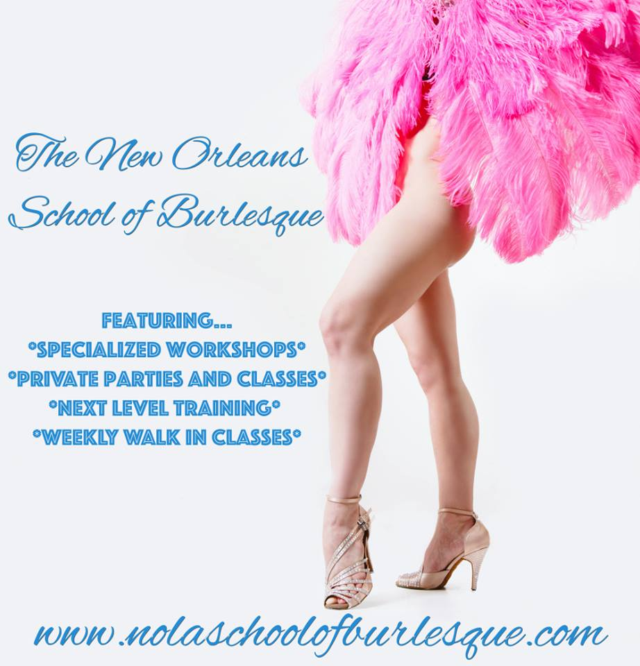 The New Orleans School of Burlesque, founded by Headmistress Bella Blue