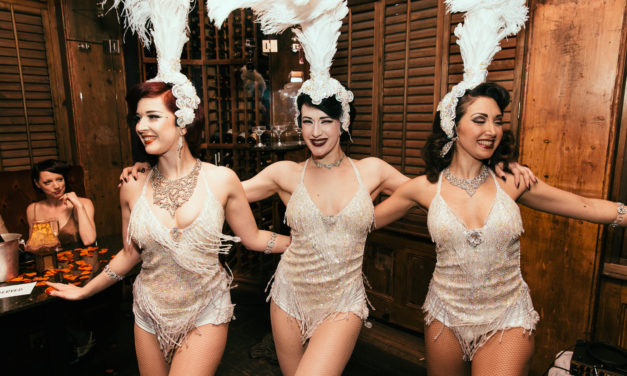 Gin House Burlesque: Stripping with a Swing