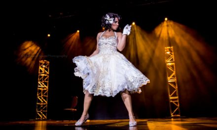 PHOTOS: Reigning Queen of Burlesque Poison Ivory at Viva Las Vegas 2016
