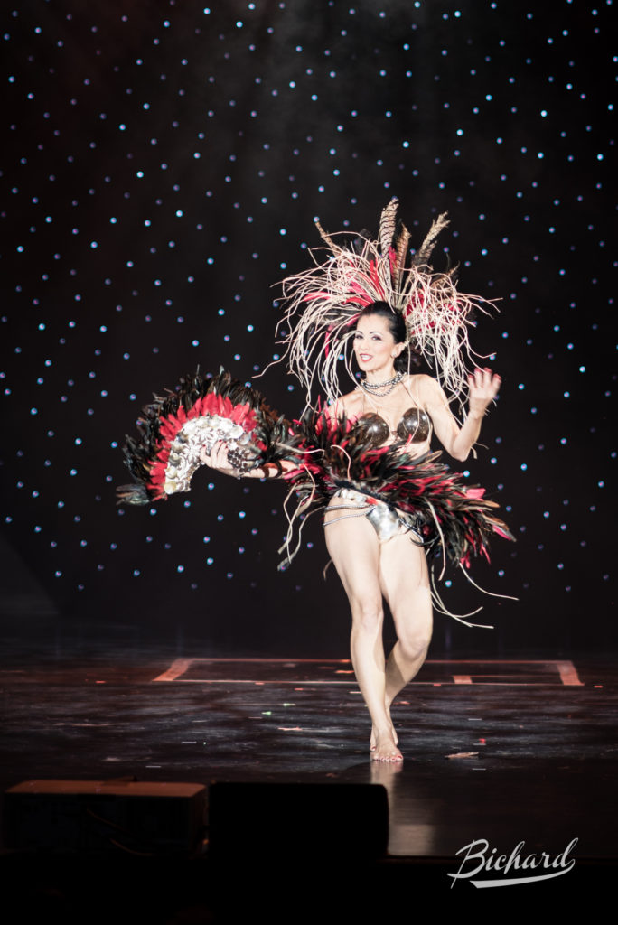 Best Debut contender Coco Pearl at the Burlesque Hall of Fame Weekend 2016. Copyright: John-Paul Bichard