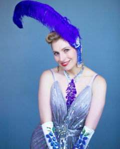 Burlesque dancer Grace Gotham, star of the new Dove campaign. (WTL Photos)