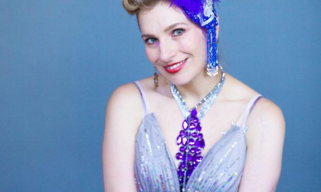 Burlesque Dancer Grace Gotham Star of Dove Campaign