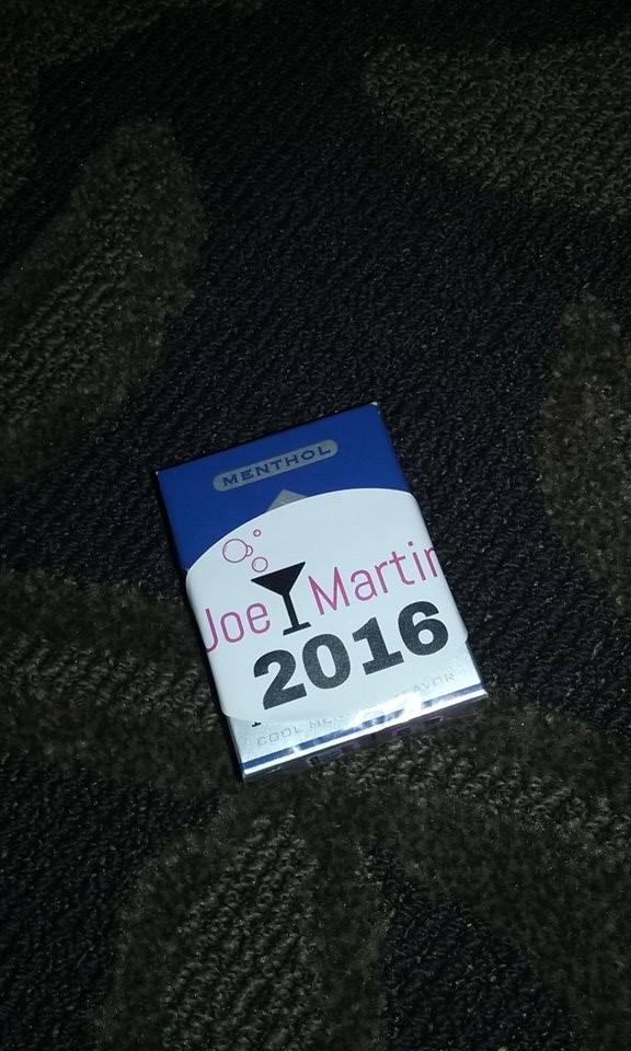 Joe/Martini 2016: You've been stickered! (Jeez Loueez' Burlesque Hall of Fame 2016 Diary)