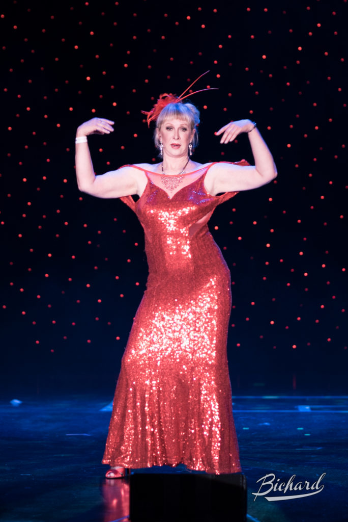 Tess Larue at the Burlesque Hall of Fame Weekend 2016. Copyright: John-Paul Bichard