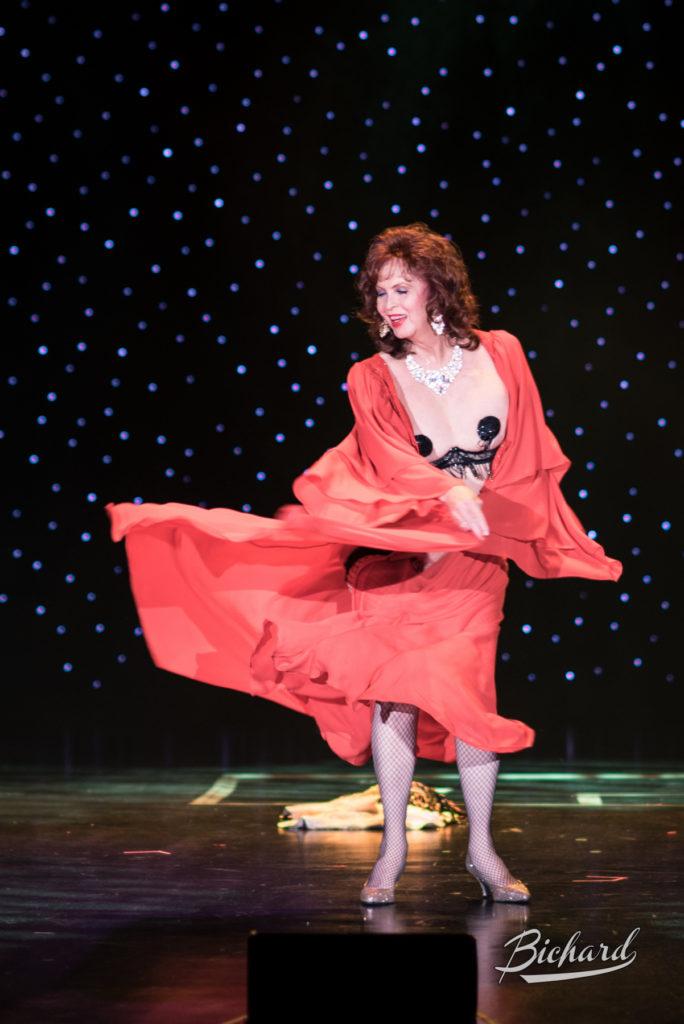 Marinka at the Burlesque Hall of Fame Weekend 2016. Copyright: John-Paul Bichard