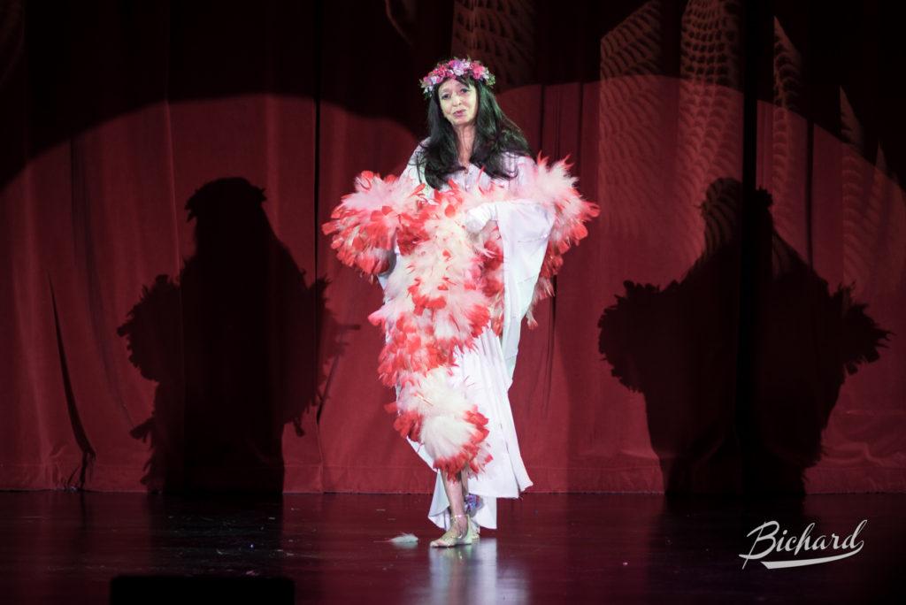 Kim Gaye at the Burlesque Hall of Fame Weekend 2016. Copyright: John-Paul Bichard
