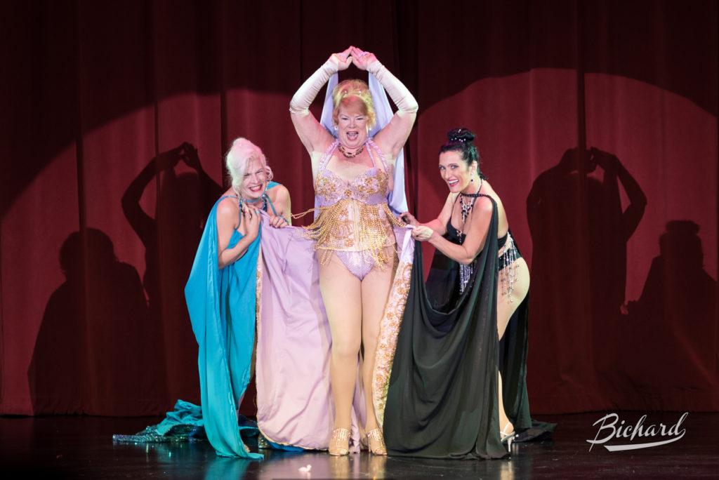 Tiffany Carter at the Burlesque Hall of Fame Weekend 2016. Copyright: John-Paul Bichard