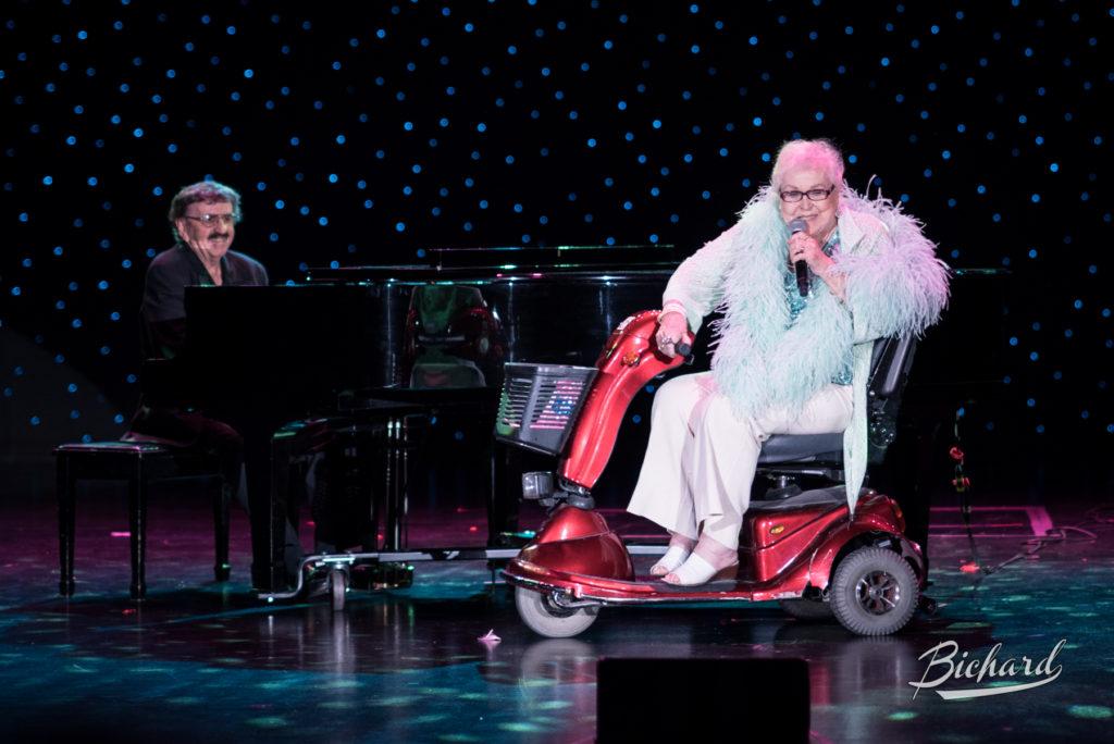 Gail Winns at the Burlesque Hall of Fame Weekend 2016. Copyright: John-Paul Bichard