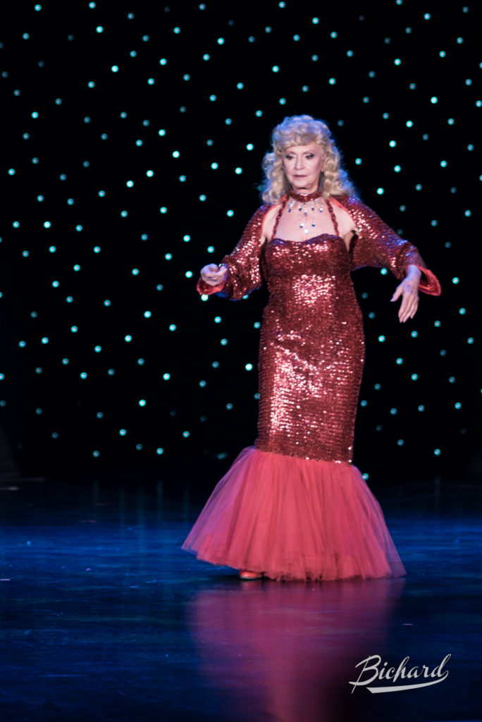 Dee Milo at the Burlesque Hall of Fame Weekend 2016. Copyright: John-Paul Bichard