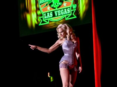 Audrey Deluxe in the Viva Las Vegas Burlesque Showcase, April 2016. ©Chris Harman/Harman House Photography for 21st Century Burlesque Magazine. Not to be used without permission.