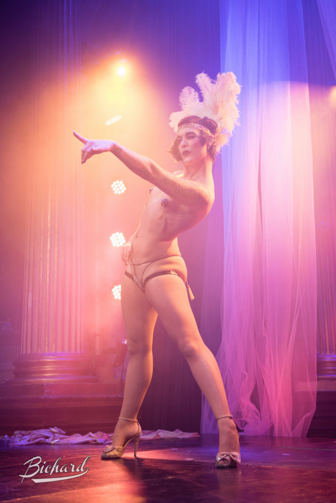 Lola Frost at the Stockholm Burlesque Festival 2015. Image copyright Jean Paul Bichard.