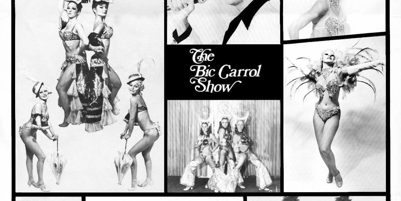 Costume and Conversation with Burlesque Legend Bic Carrol
